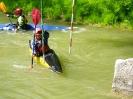 Slalomkurs auf der Etsch in Meran
